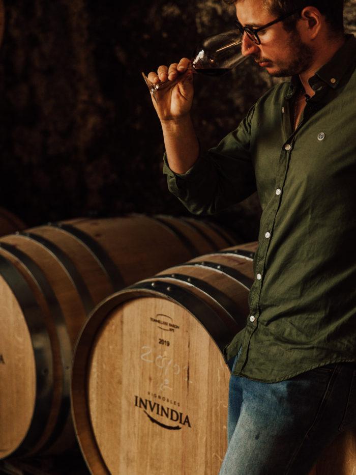 Hugues Laborde vignerons des vignobles Invindia